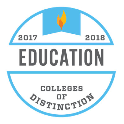 Colleges of Distinction Program Badge for Education