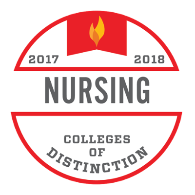 Colleges of Distinction Program Badge for Nursing